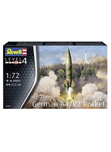 Revell  Maket A4-V2 Rocket 03309 Renkli